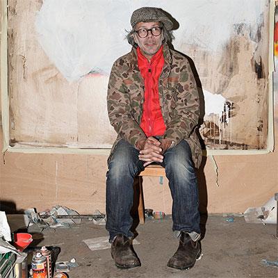jay bo monk by alex flach aka foley in his studio for i wish u sun