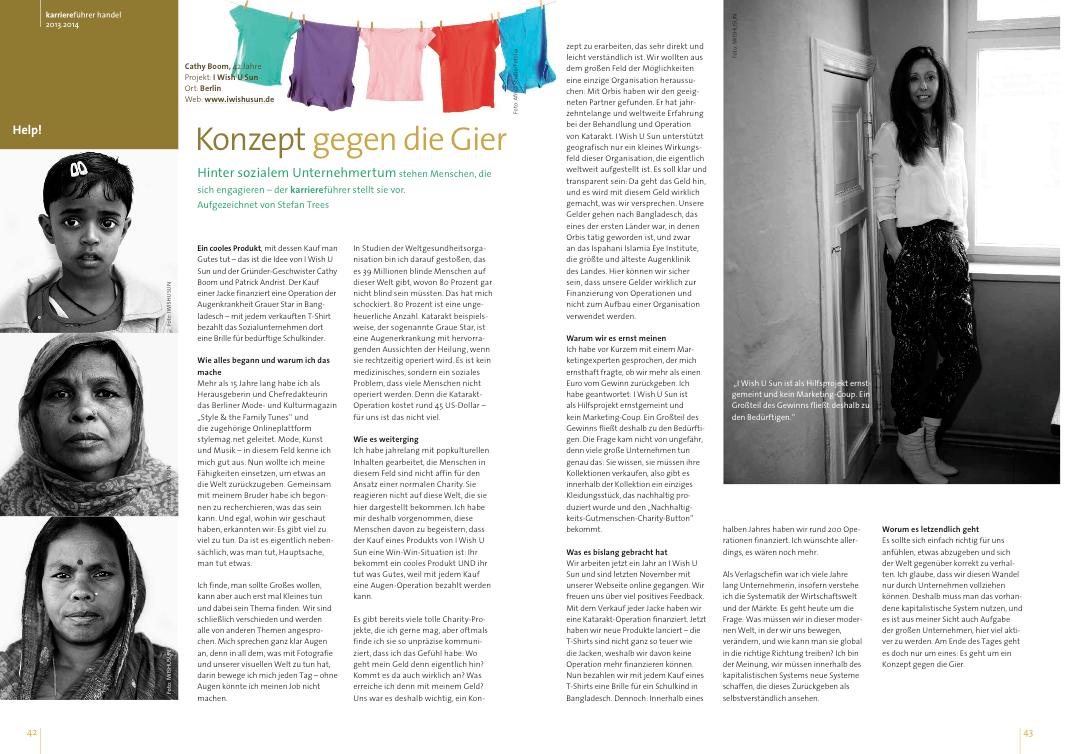 karriereführer handel 2013_2014_iwishusun interview