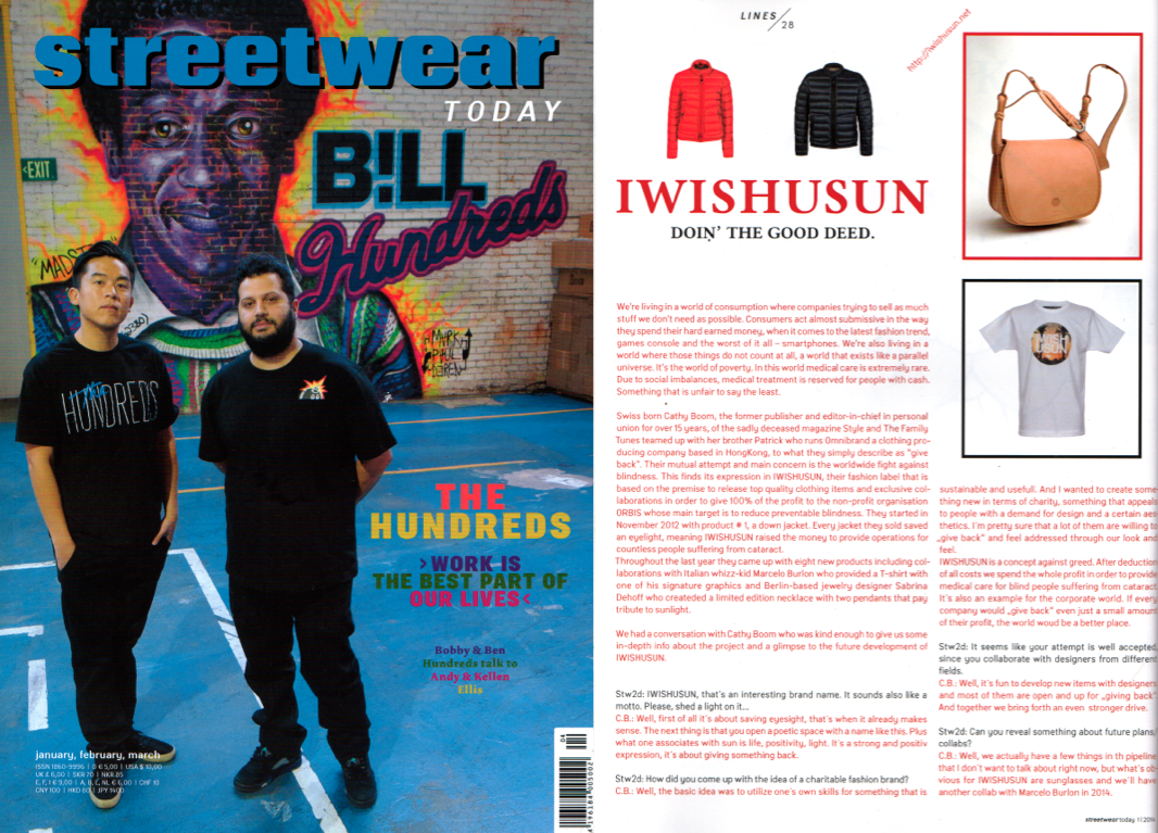 streetwear today iwishusun cathy boom interview_jan 2014